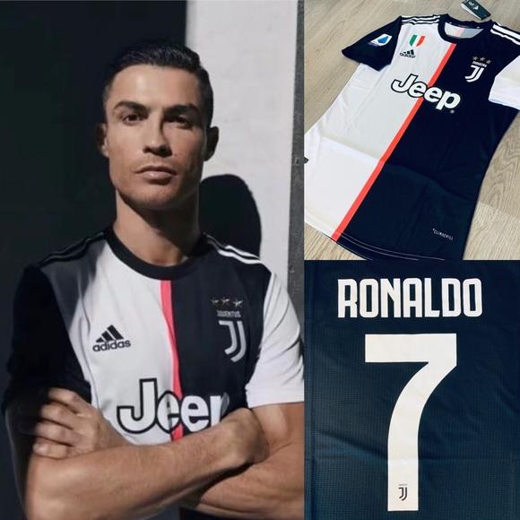 size 40 5b00b f41f8 Cristiano Ronaldo #7 adidas soccer jersey Juventus NWT